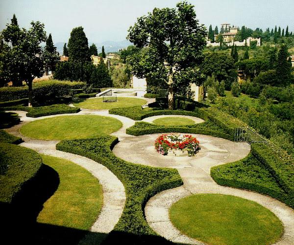 Villa il roseto florence italy oldgardens for Progettista giardini